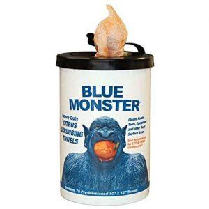 Blue Monster 77095 Heavy Duty Citrus Scrubbing Towel