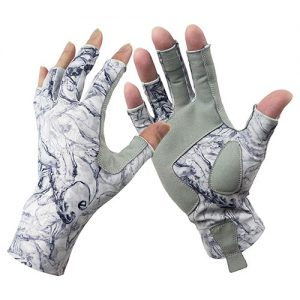 Riverruns Fingerless Fishing Gloves Great For Magnet Fishing