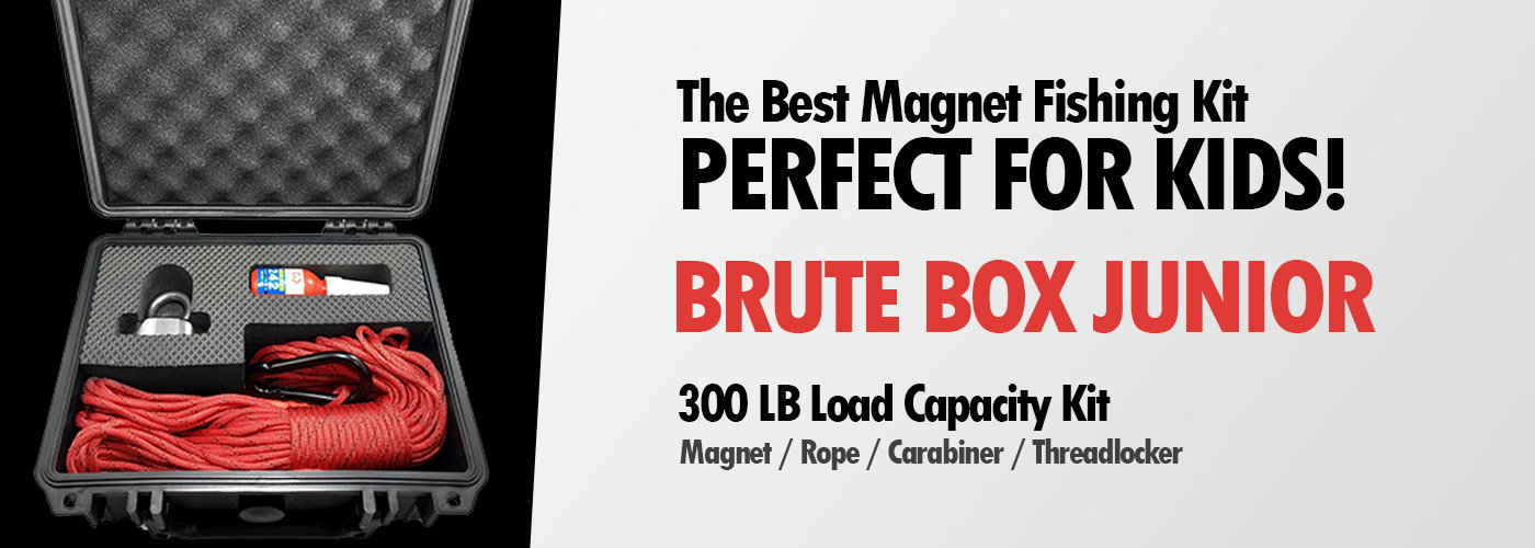 Brute Box Junior Best Magnet Fishing Kit For Kids